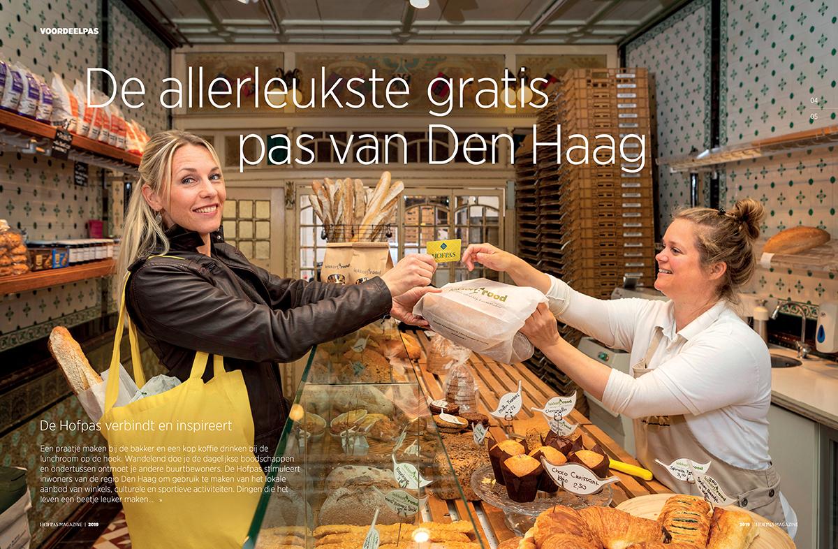 Fotografie voor de Hofpas Den Haag