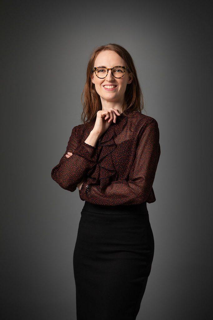 Professionele portretfotograaf maakte portretfoto Linda Muijsers